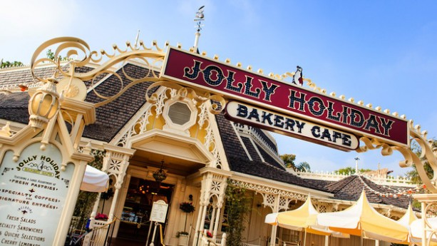 New Spring Menu at Jolly holiday Bakery Cafe at Disneyland Park