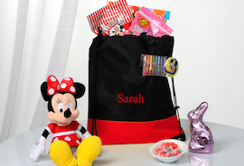 Minnie's Easter Cinch Bag from Disney Floral & Gifts