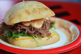 New Braised Pulled Brisket Sandwich at Studio Catering Company at Disney�s Hollywood Studios