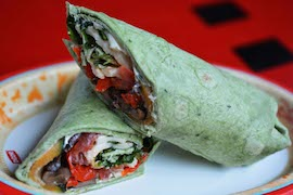 New Vegetable Wrap at Studio Catering Company at Disney�s Hollywood Studios