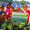 Students Harvest First Crop from Walt Disney Elementary School Teaching Garden Funded By Disneyland Resort