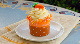 New Carrot Cake at Jolly Holiday Bakery Café in Disneyland Park