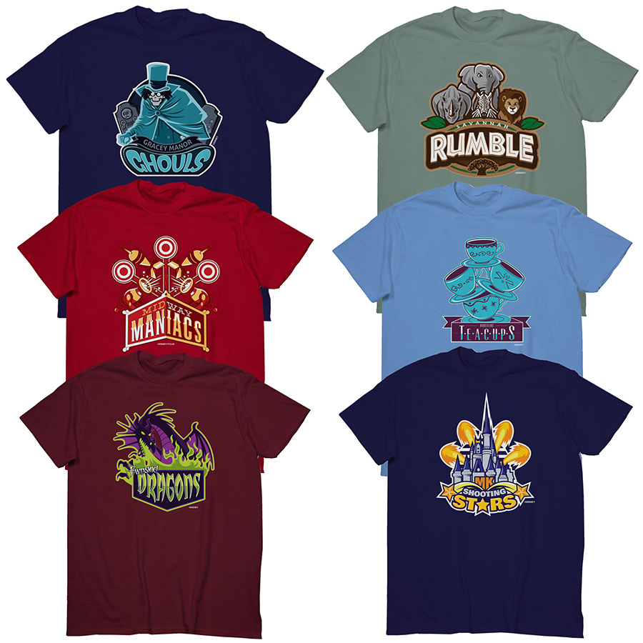 S'March Magic' Disneyland, Walt Disney World T-shirts
