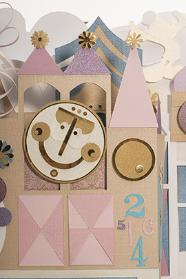 Take a 3-D Spin Around This Amazing 'Show Your #DisneySide' Paper Sculpture