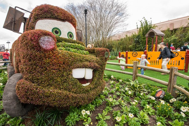 Epcot International Flower & Garden Festival Blooms Again