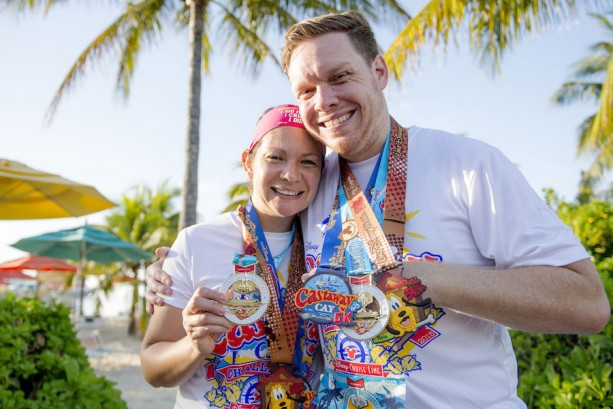 Inaugural Castaway Cay Challenge 5K Race on Disney Cruise Line Private Island