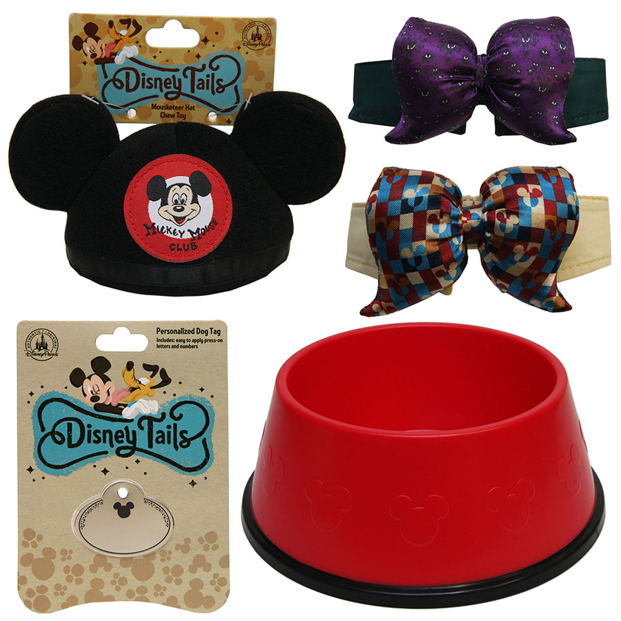 Fetch new disney tails pet products this spring at disney for Dog kennels near disney world