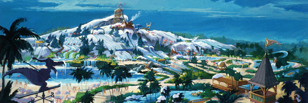 Happy Anniversary Blizzard Beach Water Park