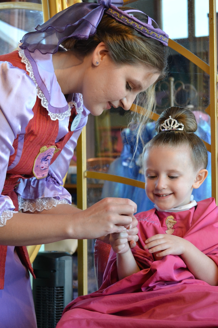Princess perfection at bibbidi bobbidi boutique at for World boutique