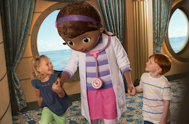 Doc McStuffins on a Disney Cruise