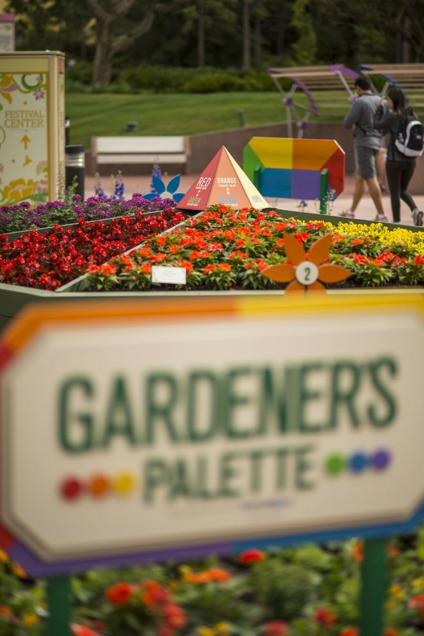 Epcot International Flower & Garden Festival: Gardener's Palette