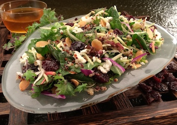 The Power Salad at Sunshine Seasons at Epcot