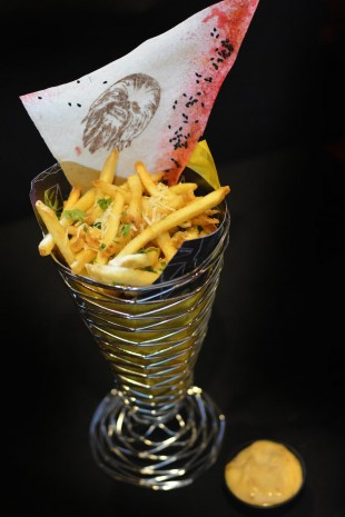 Pilot's Pomme Frites from the Rebel Hangar: A Star Wars Lounge Experience at Disney's Hollywood Studios