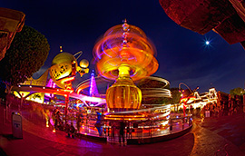 The Astro Orbitor at Disneyland Park