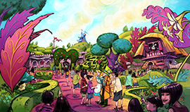 'Alice in Wonderland'-Themed Area Coming to Fantasyland at Tokyo Disneyland Park