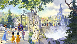 'Beauty and the Beast'-Themed Area Coming to Fantasyland at Tokyo Disneyland Park