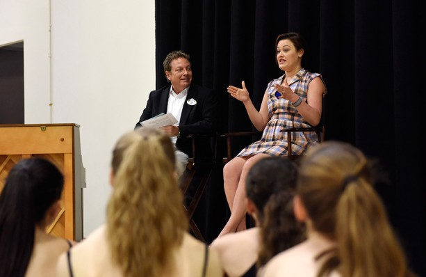 Actress 'Pops In' on Performing Arts Students at Walt Disney World Resort