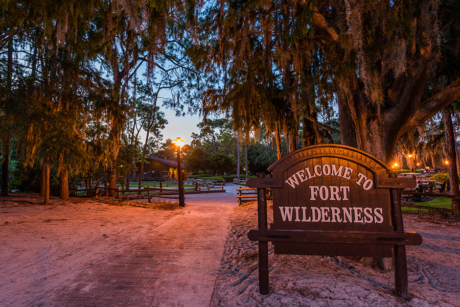 It S A Peaceful Morning At Disney S Fort Wilderness Resort