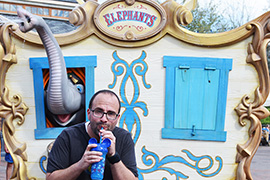 Blue Slush from Storybook Circus at Magic Kingdom Park