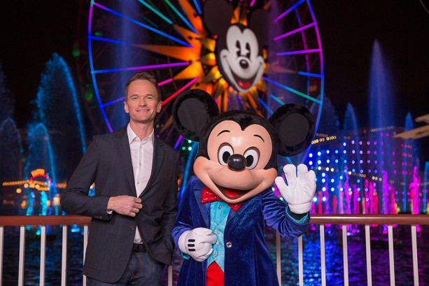 Neil Patrick Harris and Mickey Mouse Host 'World of Color - Celebrate!' at Disney California Adventure Park