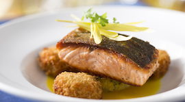 Copper River Salmon at California Grill at Disney's Contemporary Resort