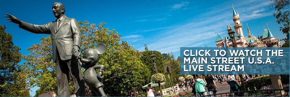 Disneyland Main Street Live Stream - 24 Hour Event - 2015