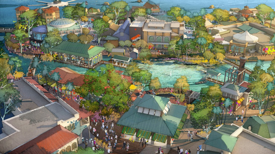 disney springs disney parks blog heres what disneys west coast epcot would have looked like 550x309