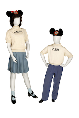 Costumes from the Mickey Mouse Club to be Displayed at Walt Disney Archives Presents - Disneyland: The Exhibit at D23 EXPO 2015