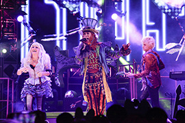 'The Diamond Mad T Party at Disney California Adventure Park
