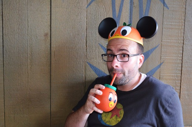Orange bird drink