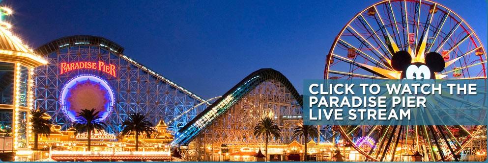Paradise Pier Live Stream - 24 Hour Event - 2015