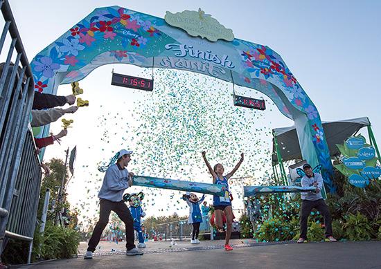 Lenore Moreno Shatters Tinker Bell Half Marathon Record at Disneyland Resort