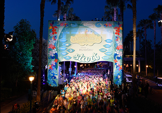 Tinker Bell Half Marathon at Disneyland Resort
