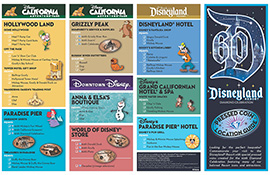 New Pressed Coins Debut for the Disneyland Resort Diamond Celebration