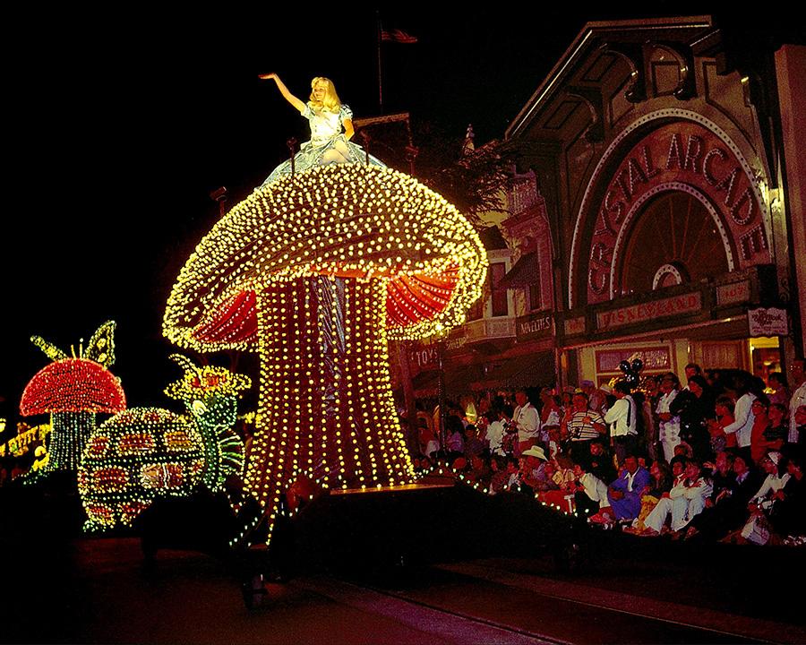 ... Main Street Electrical Parade Lights Up the Night at Disneyland Park