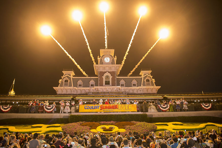 Magic Kingdom Park Kicks of The 'Coolest Summer Ever' & 24 Hours of Fun