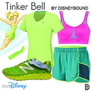 Tinker Bell Half Marathon DisneyBound Look