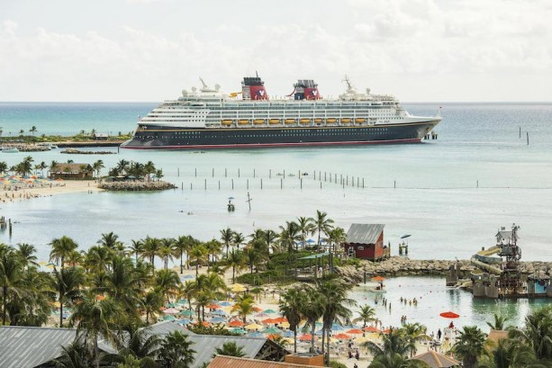 The Disney Magic at Castaway Cay