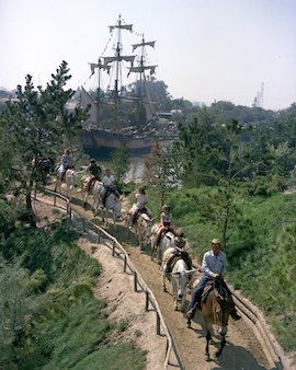 Pack Mules Through Nature's Wonderland at Disneyland Park