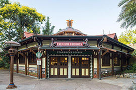 Disney's Animal Kingdom's Starbucks Opens, Flat White Lattes To Help Endangered Species