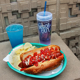 The 'Angry' HOT Dog Inspired by Disney•Pixar's 'Inside Out' Debuts at Award Wieners at Disney California Adventure Park