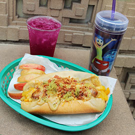 "The Jubilant ""Joy"" Dog Inspired by Disney•Pixar's 'Inside Out' Debuts at Award Wieners at Disney California Adventure Park"