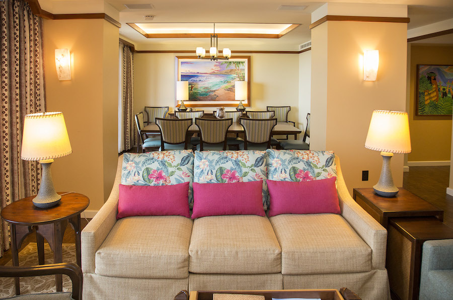 A Home Away From Home At Aulani A Disney Resort Spa 3 Bedroom Grand Villa Disney Parks Blog
