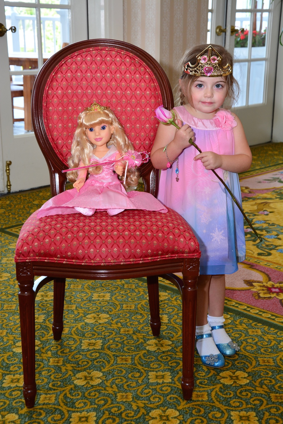 Little Princesses Enjoy My Disney Girl's Perfectly Princess Tea Party at Disney's Grand Floridian Resort & Spa