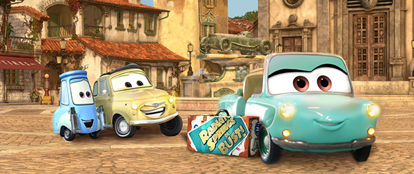 Luigi's Rollickin' Roadsters Rolling into Disney California Adventure Park, Image Courtesy of Walt Disney Imagineering