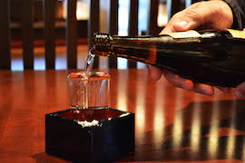 Sake from Tokyo Dining at Epcot