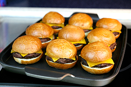 Cheeseburger Sliders at Disney's PCH Grill at Paradise Pier Hotel at Disneyland Resort