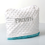 Frozen Pillow Blanket, Part of Anna & Elsa's Warm Welcome