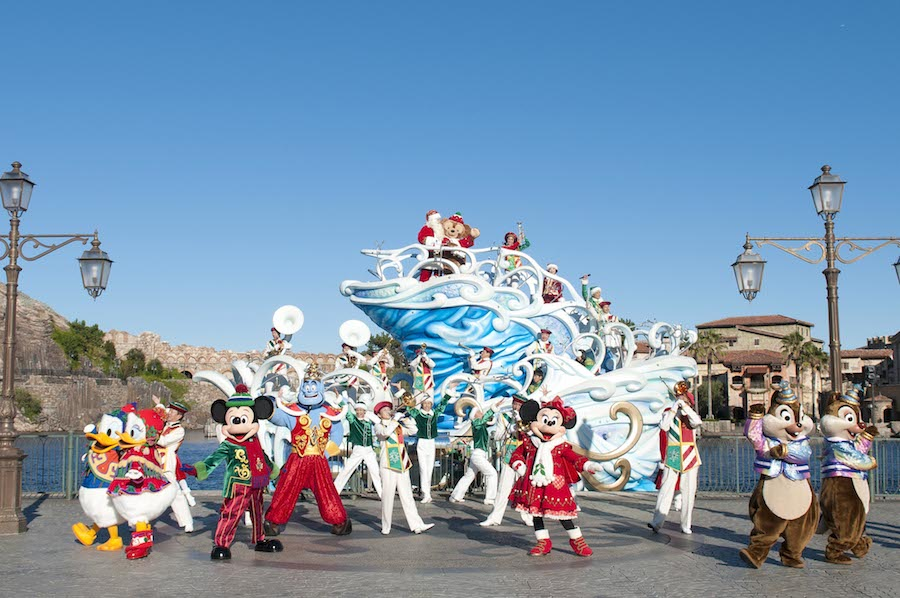 Christmas Offerings Announced for Tokyo Disney Resort