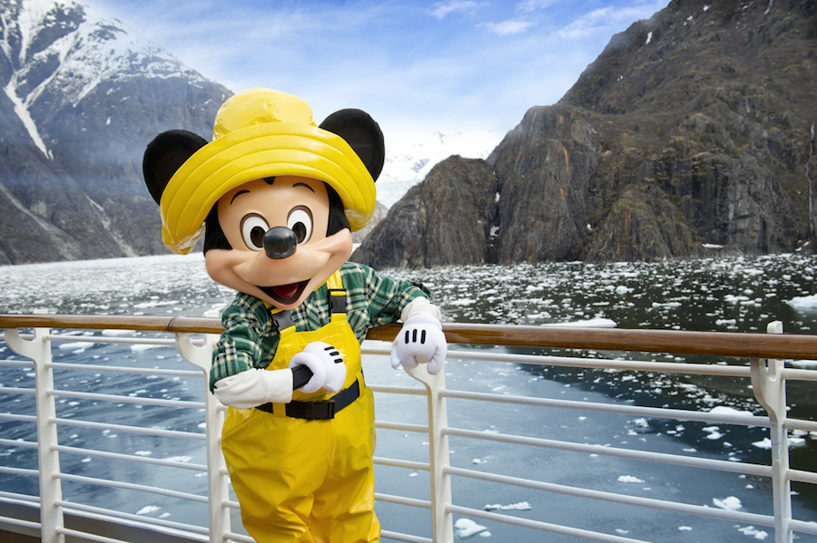 Mickey Mouse in Alaska With Disney Cruise Line